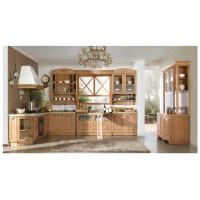 China Red Oak Bay-solid wood kitchen cabinet on sale