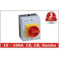 China IP65 32A Three Pole Isolator Switch / Industrial Rotary On Off Switch on sale