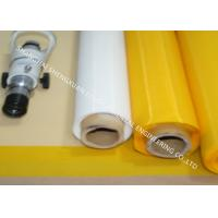 China 55T / 77T / 120T Silk Screen Mesh Roll In 127cm Width Without Damage To Thread on sale