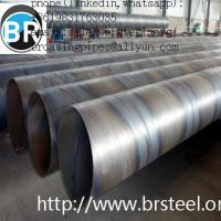 Buy cheap Carbon steel SSAW 3PE coated steel pipe,spiral welded pipe,carbon steel Q195 from wholesalers
