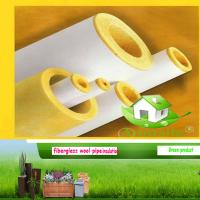 China glass wool pipe on sale