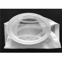 Buy cheap Customized Shape Micron Nylon Mesh Filter Bags White Color For Rosin Press from wholesalers