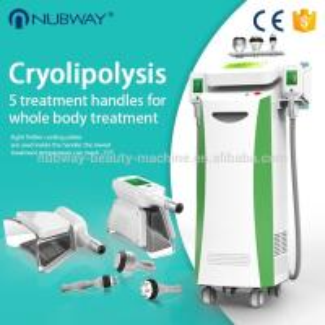 China New design body shaping slimming cryolipolysis machine nubway,cavitation RF Vacuum slimming machine double chin removal on sale