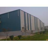 China Portable structure wind-resistant large-span steel structure warehouse on sale