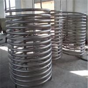 China ASTM B338 titanium coil heat exchanger on sale