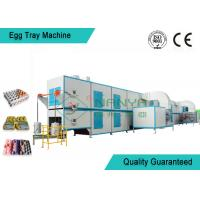 Biodegradable Recycled Paper Egg Tray Machine with 3000Pcs / H Capacity Manufactures
