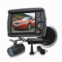 CCTV Camera Kit with 3.5-inch Digital Screen Monitor and Mini Wing Mounted Camera for Coupe, Taxi Manufactures