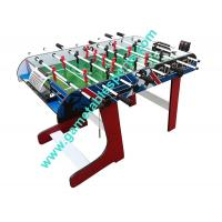 4 FT Folding Soccer Table Wood Foldable Soccer Table For Family Play Manufactures