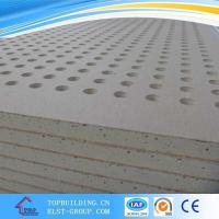 China Perforated Gypsum Ceiling Tile/Acoustic Gypsum Ceiling on sale