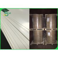 China FSC 100 % Pure Wood Pulp White PE Coated Paper For Making Cup Plate 300gsm on sale