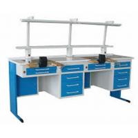 Adjustable Height Medical Lab Table Double Person Dental Lab Work Bench Manufactures