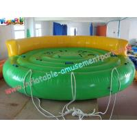 Crazy UFO Inflatable Water Toys , Inflatable Water Towable Tube For Water Ski