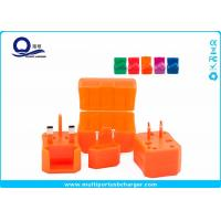 Mix Color International Power Plug Adapter Converter , Universal Travel Power Socket Adapter Manufactures