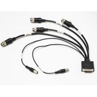 Rear View Camera Cable With 4 Pin Connector For Camera Video And Audio Manufactures