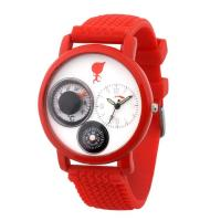 Promotional Red Silicone Watch (ARS04-8833) Manufactures