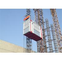 Construction Building Passenger And Material Hoist , 2700kg Capacity Manufactures