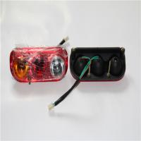 Three Color Square Led Tail Lights , Small Car Led Tail Lights Energy Saving Manufactures