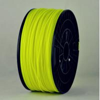 3D Printer Yellow Fluorescence Filament ABS, 1.75mm 1kg imprimante 3D Material consumables Manufactures