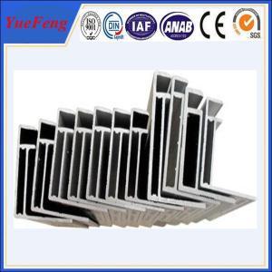 China anodised solar panel aluminium aluminio frames supplier Manufactures