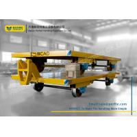 Custom Heavy Duty Flatbed Trailer With Cast Steel Wheel For Industry Manufactures