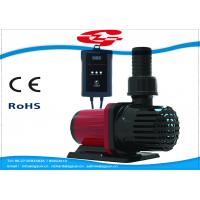 3000L/H high flow solar DC water pump with filter for Fountain and Aquarium Manufactures