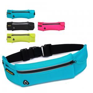 China Wholesales waterproof Waist Bag Running belts waterproof GMY Spandex fanny Bags Customized Neoprene Cycling Waist Packs on sale