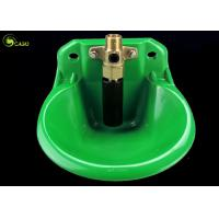 Automatic PP Plastic Cow Water Bowl Trough Adjustable Green Durable Manufactures