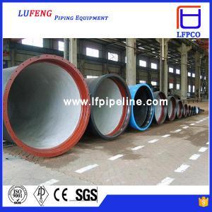 China EN598 EN545 ductile iron pipe on sale