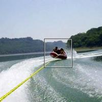 China 3 Riders Water Towable Tube Inflatable For Outdoor Sports Game on sale