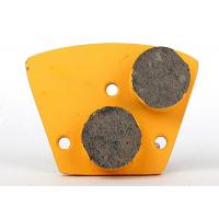 30 # Concrete Grinding Plate , Diamond Floor Grinding Block Trapezoid Shape Manufactures