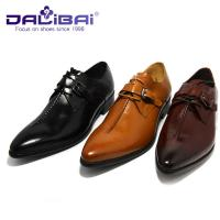 Crocodile Luxury Genuine Leather Dress Shoes For Wedding Or Office Manufactures