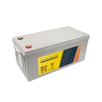 12.8V 200Ah LiFePO4 Battery Pack With Lithium Ion Phosphate Manufactures