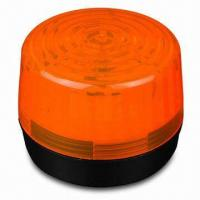 Strobe Flasher in Orange, with 6 to 12V DC Operating Voltage and 200mA Current Consumption  Manufactures