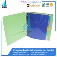 PP cover paperboard ring binder Manufactures