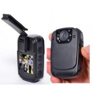 China Portable Law Enforcement Police Body Cameras 2000 MAh Battery 3.7 Voltage on sale