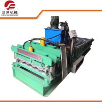 Automatic Zinc Glazed Tile Making Machine 840 Model For Exhibition Halls Manufactures