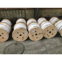 7 / 16 X 5000 FT 1X7 EHS Galvanized Guy Strand Wire Class A Zinc - Coating Manufactures
