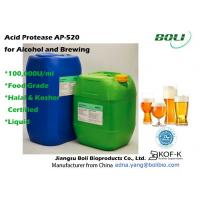 China Low PH Application Condition Enzymes Liquid Acid Protease AP - 520 For Food Use on sale