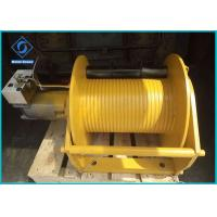 Industrial Mini Hydraulic Powered Winch Customized Color For Shrimp Boat Truck Manufactures
