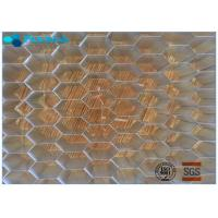 5056 Iso Honeycomb Building Material , Honeycomb Sheet Material Light Weight Manufactures