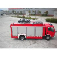 3925kg Shipping Mass ISUZU Chassis Light Fire Truck 4x2 Drive Type 6705×2200×3210mm Manufactures
