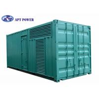 China Quiet 1100kVA Cummins Diesel Generator Fuel Consumption Low Noise on sale
