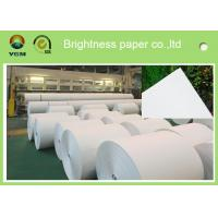 Full 70gsm Good Whiteness Business Card Paper / White Bond Paper Smooth Finish Manufactures