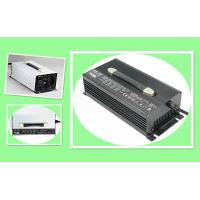 Silver Or Black 50A 24V Smart Lithium Battery Charger Aluminum Enclosure Manufactures