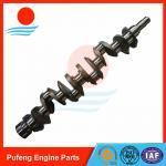 China Truck engine parts wholesaler  HINO K13C K13D forged crankshaft Manufactures