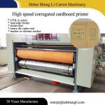 Lead Edge Feeder Flexographic Box Printing Machine L7000*W4300*H2600mm Manufactures