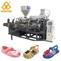 Crystal Shoes Slipper Making Machine , PVC kids Jelly Shoe sandal Injection Moulding Machine Manufactures