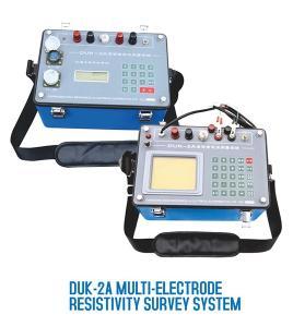 DUK-2A Multi-Electrode Resistivity Survey Instrument Manufactures