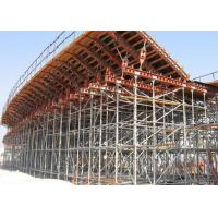 Customized Adjustable Cuplock Scaffolding System High Loading Capacity Manufactures