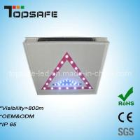 2012 New Developed LED Solar Traffic Warning Signs Manufactures